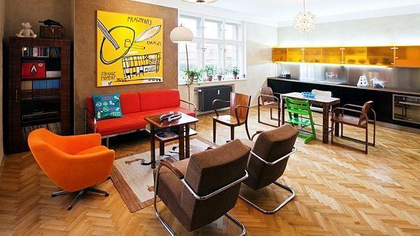 Když moderní domov ovládne retrostyl