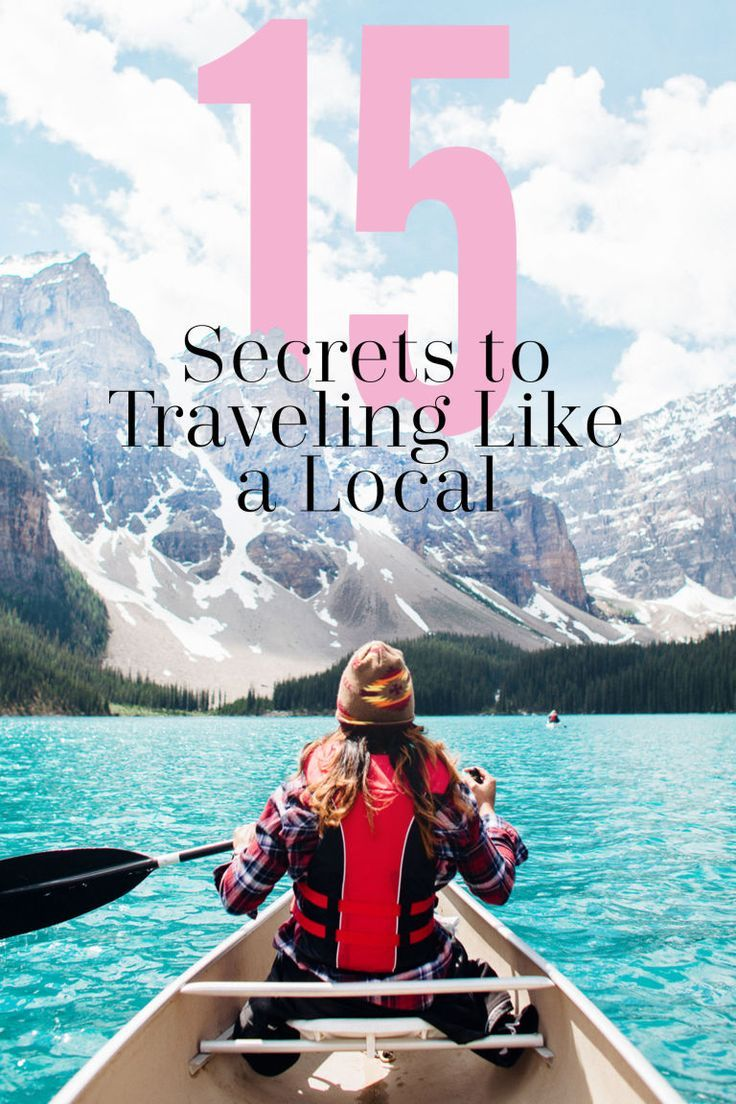 HOW TO TRAVEL LIKE A LOCAL: Aka ow not to stick out like a sore tourist thumb, and how to plan the best trip ever. Here are a few of the secrets from a travel pro that will help you blend in with locals, find the best hidden gems and things to do in a city, and how to plan a truly remarkable trip. Click through for all the travel advice, ideas, tips, and hacks. And find more fun and helpful travel planning ideas at http://Cosmopolitan.com.