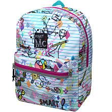 Project MC2 Notebook Doodles White Smart! 16 inch Backpack