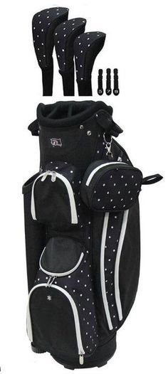 RJ Sports Ladies LB-960 Women's Golf Bag. This golf bag has been redesigned to offer maximum features while keeping the golf bag very light weight. At only 4.7 lbs, this bag is easy to lift and carry