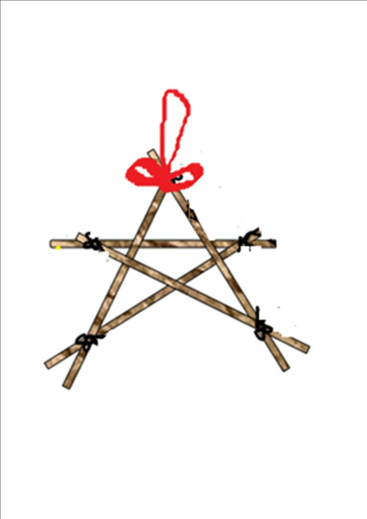 Christmas star.  A super simple, easy how to make a Christmas Star perfect for Kids Christmas Craft