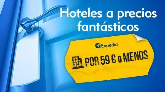 Hoteles baratos con Expedia.es, ofertas para reservar tu hotel