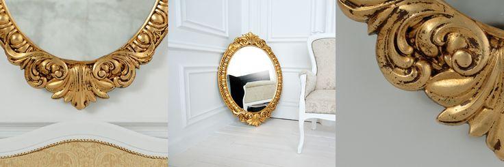 Венецианское овальное зеркало это неповторимая элегантная форма декоративной рамы. Благородство классических линий и ажурная легкость отражает неповторимый стиль Венеции с уникальной архитектурой.