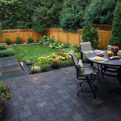 garden awesome landscape ideas with small patio and furnishing outdoor decor on dark backyard pavers feat small garden ideas garden design ideas photos - Small Yard Design Ideas