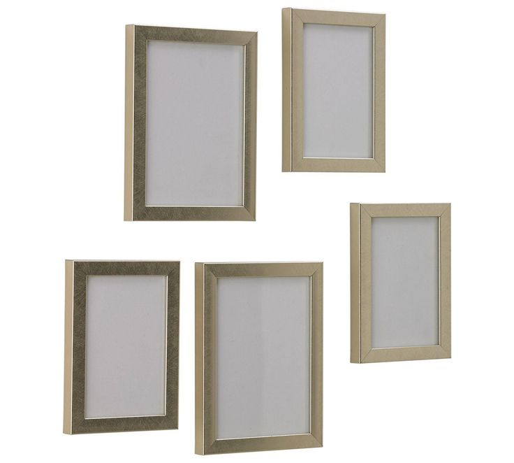 Buy HOME Set of 5 Photo Frames - Copper at Argos.co.uk, visit Argos.co.uk to shop online for Photo frames, Wall art, pictures and photo frames, Home furnishings, Home and garden