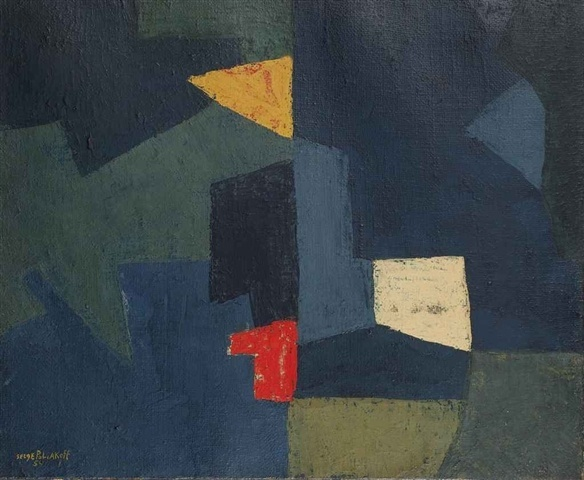 Composition abstraite by Serge Poliakoff on artnet