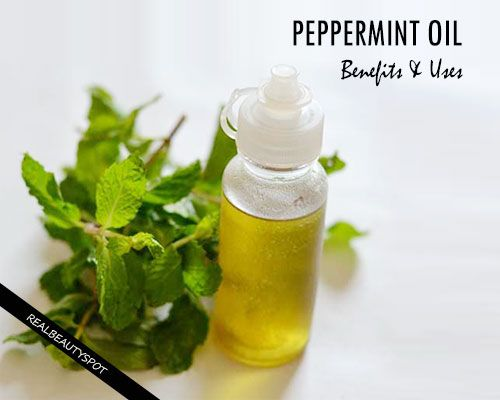 PEPPERMINT ESSENTIAL OIL - Benefits, Uses & Side Effects
