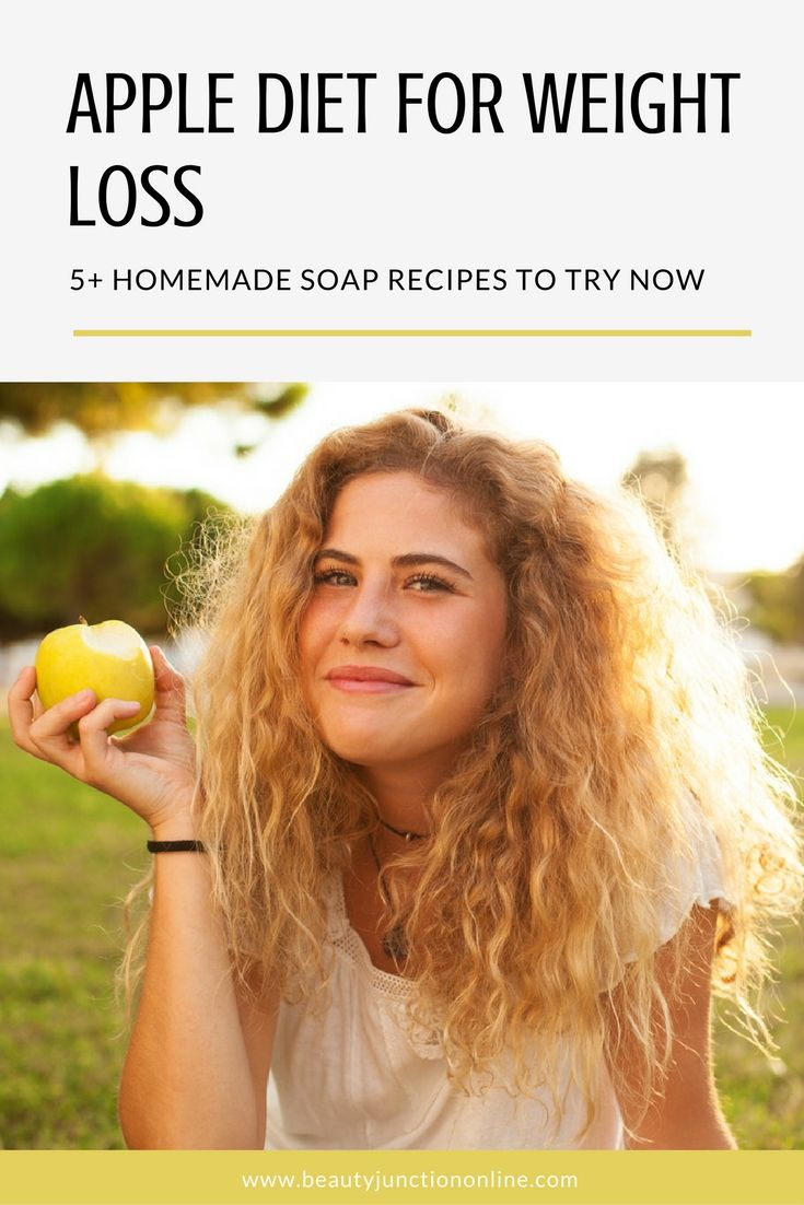 The benefits of apple diet for weight loss
