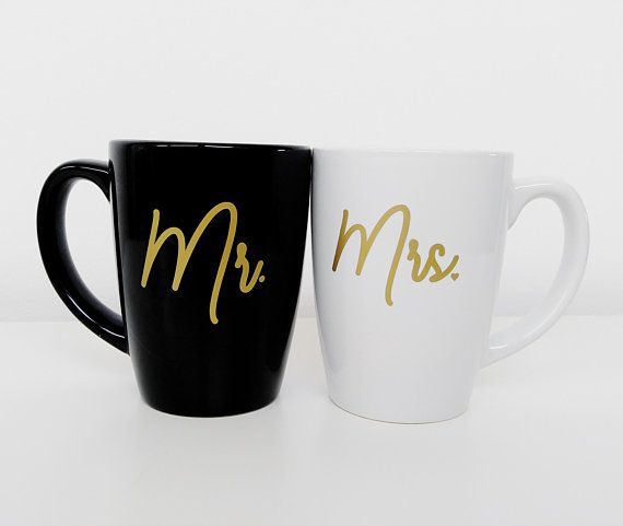 Couple Gifts Mr And Mrs Mugs Gifts For Couples His And Hers Mugs Engagement Gift