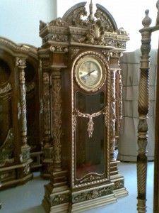 Jam Hias Jati Brawijaya | Alfah Furniture