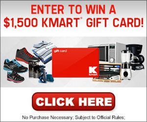 Free K-Mart Gift Card http://azfreebies.net/free-k-mart-gift-card/