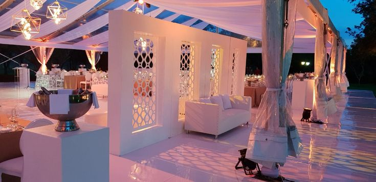 Glass Wedding Marquee Wedding Venue Wedding Decor
