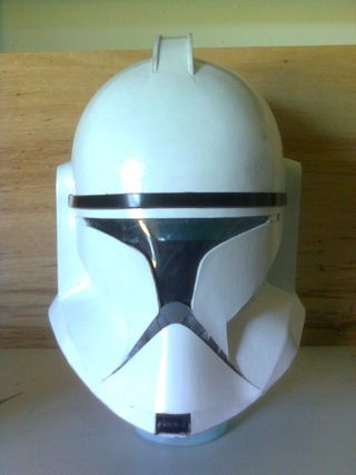 Probably one of the more challenging craft projects I've undertaken with the kids, to fabricate a childs full Clone Trooper costume (including helmet) from rigid...