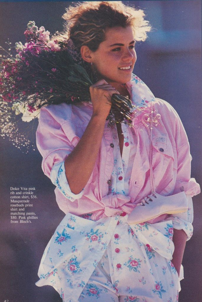 80s Girl Pink