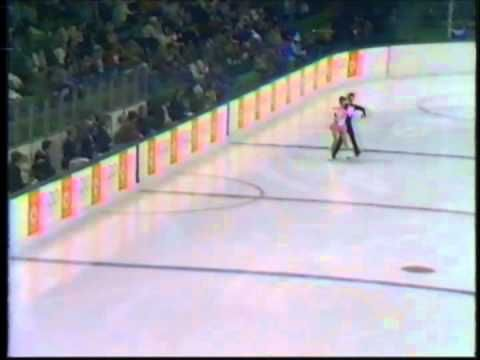1984 Winter Olympics - Ice Dance Compulsory Dances Rhumba - Part 2 - YouTube