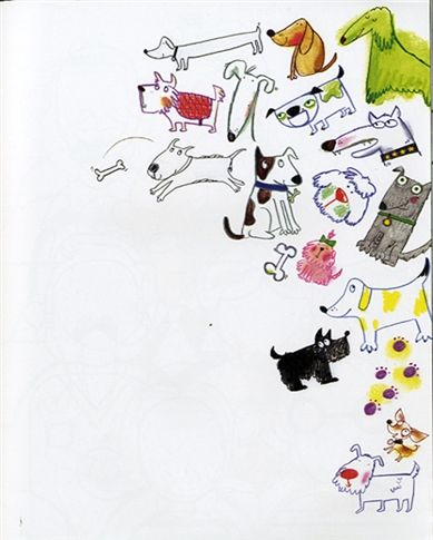 Usborne See Inside: Drawing, doodling and colouring