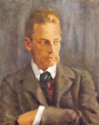 Rilke na portrecie pędzla Helmutha Westhoffa, 1901