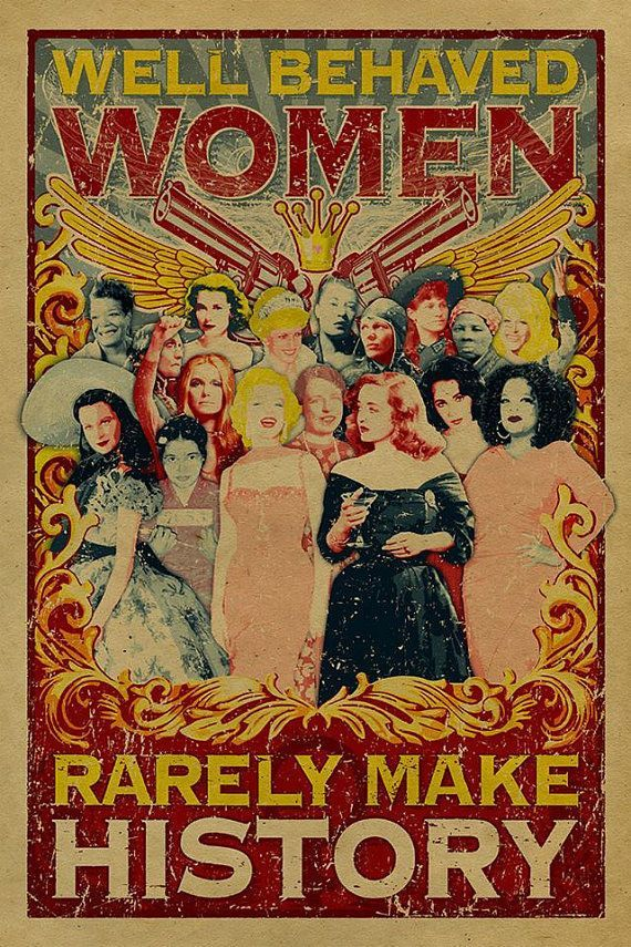 What a list of amazing women! Vivien Leigh, Marilyn Monroe, Bette Davis, Rosa Parks, Oprah Winfrey, Elizabeth Taylor, Maya Angelou, Susan B Anthony, Gloria Steinem, Eleanor Roosevelt, Harriet Tubman, Dolly Parton, Amelia Earhart, Billie Holiday, Grace Kelly, Princess Diana, Annie Oakley