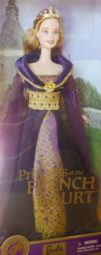 Barbie-Prinzessin-World-2001-Princess-of-French-Court-28372-NRFB