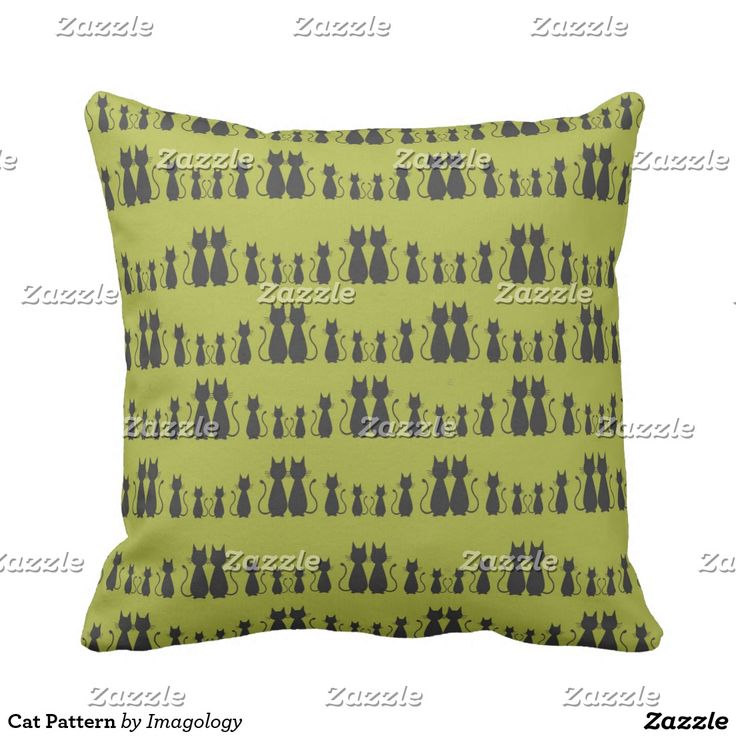 Cat Pattern Pillow