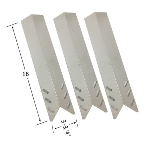3 PACK STAINLESS STEEL HEAT SHIELD FOR GRILL CHEF BM2000, FL2000, GBC1088WB GAS MODELS Fits Compatible Grill Chef Models : BM2000, FL2000, GBC1088WB Read More @http://www.grillpartszone.com/shopexd.asp?id=38020&sid=15786