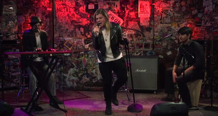 "Watch Conrad Sewell Perform ""Hold Me Up"" At At The CBGB Space"