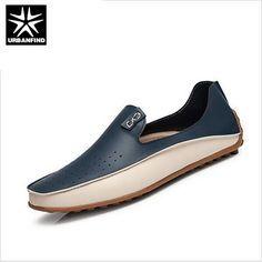 Nuevos Zapatos Causales de Verano Hombres hombres que Conduce los Zapatos Mocasines de Alta calidad de Cuero de LA PU tamaño 36-47 Nueva Marca hombre Pisos