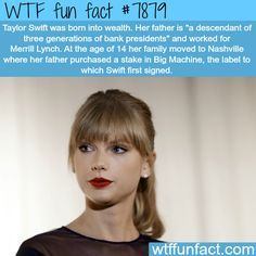 Taylor Swift - WTF fun facts