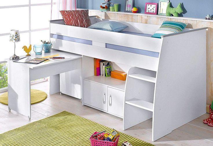 die besten 25 kinderhochbett mit schreibtisch ideen auf pinterest kura hack kura bett ideen. Black Bedroom Furniture Sets. Home Design Ideas