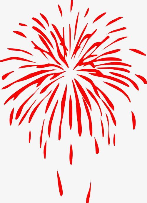 Red Fireworks Fireworks Fireworks Clipart Red