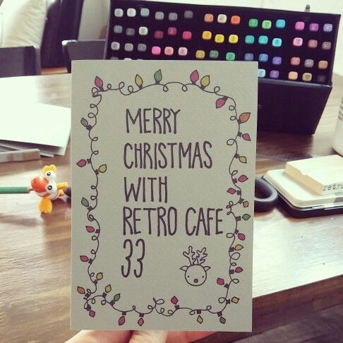 christmas cards by mirim.