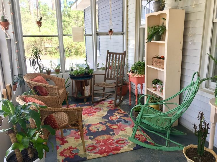 A Sunroom Update With Rugs USAu0027s Radiante Ning ...