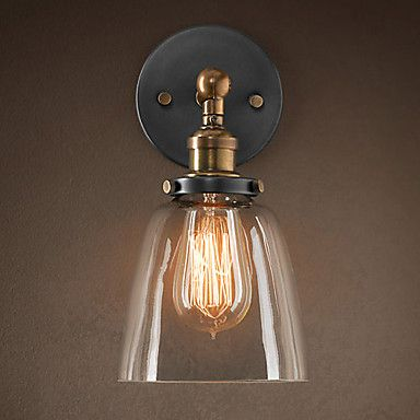 Retro Iron Light Wall Light In Schilderen Processing – EUR € 103.14