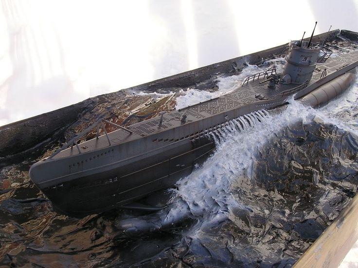 U-boat 1/72 Scale Model