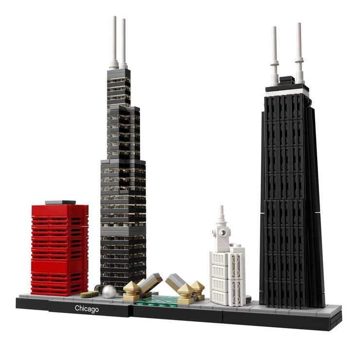 On Sale Next Month: A Chicago Skyline Lego Set