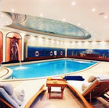 Stunning Modern Swimming Pool Design Ideas with Murals
