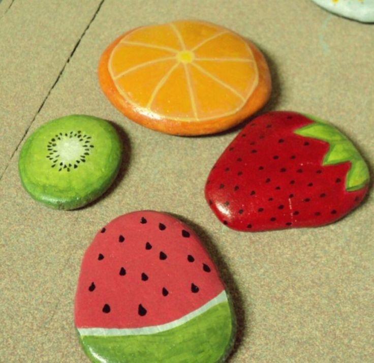 Diy sassi-frutta