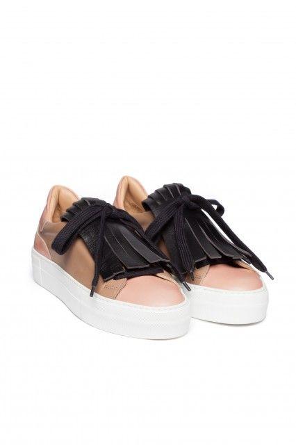 L'Autre Chose fringe slip-on FW15 #lautrechose #slipon #sneakers #shoes #shoetrend