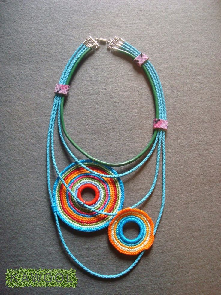 Kawool: [Colar] C #85 - crochet necklace