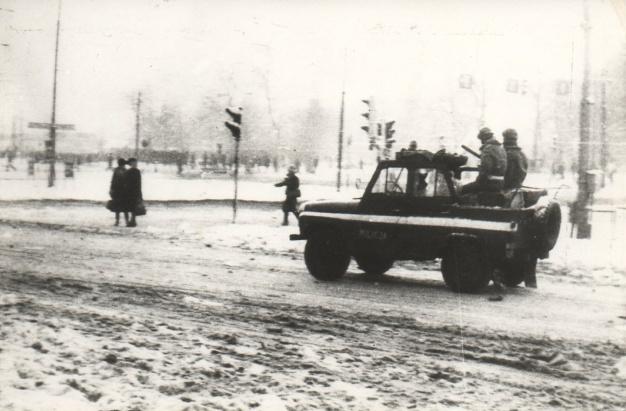 Stan Wojenny w Gdańsku / Martial Law in #Gdansk | Zbiory Mikołaja Lewandowskiego