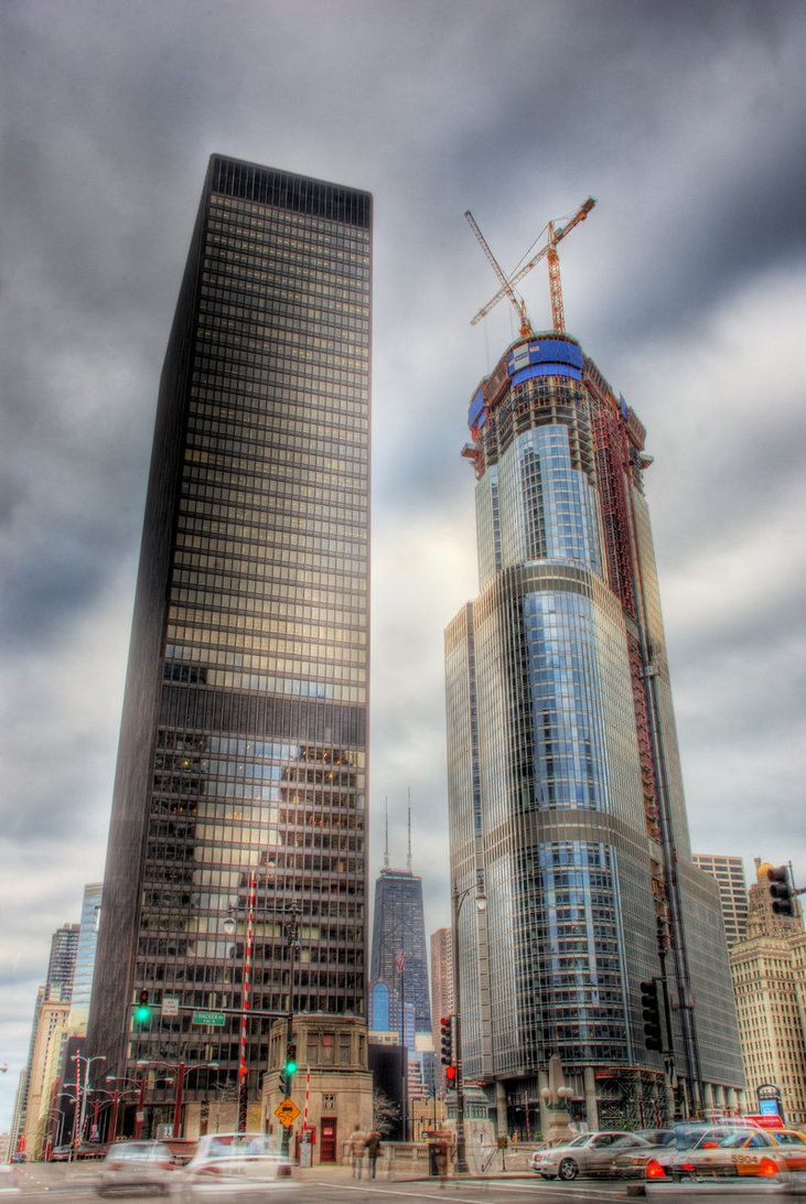 IBM-Building-and-Trump-Tower-24 Amazing and Strange Building From Around The World
