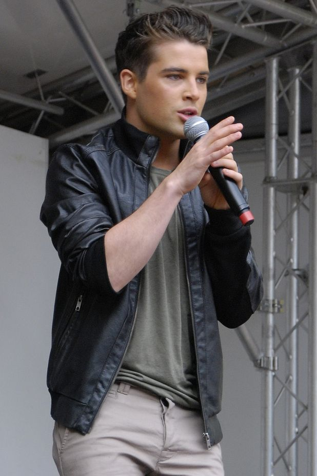 Joe McElderry at Leeds Pride (4). 5/8/12. Thanks Digital Spy.
