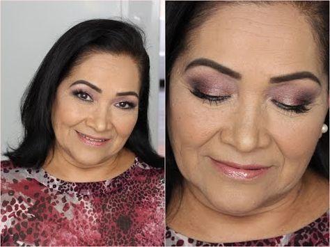 Maquillaje para Piel Madura / Fiesta   Mytzi Cervantes - YouTube