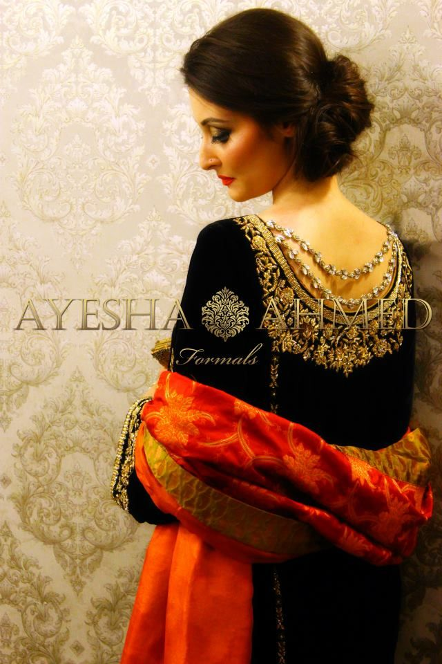 2 Ayesha Ahmed formal wear collection 2015 For Girls (1)