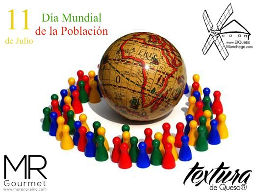 11 de Julio. Día mundial de la POBLACIÓN.