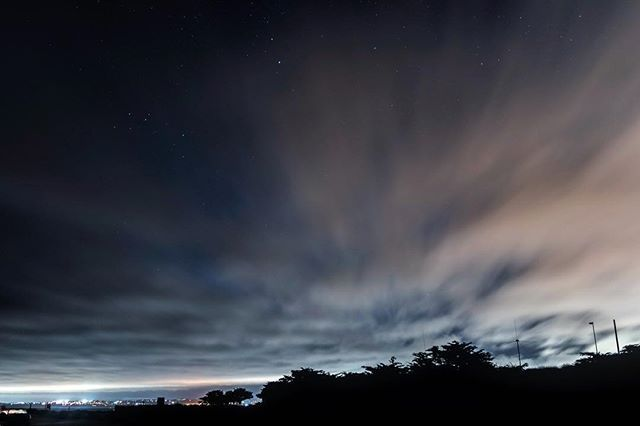 Clouds over Pacific Grove #california #pacificgrove #nightphotography #nikonphotographers #montereylocals #pacificgrovelocals- posted by Chris Johnson https://www.instagram.com/cgilljohnson. See more of Pacific Grove, CA at http://pacificgrovelocals.com