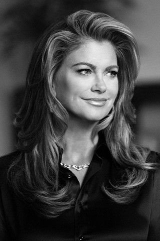 Kathy Ireland - the best hair style, long layers...can anyone believe she's 49?!