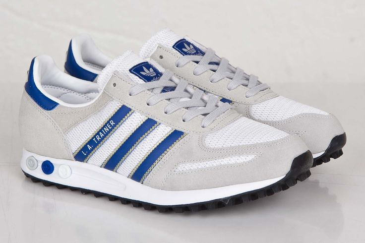 "adidas LA Trainer ""Grey & Collegiate Royal"""