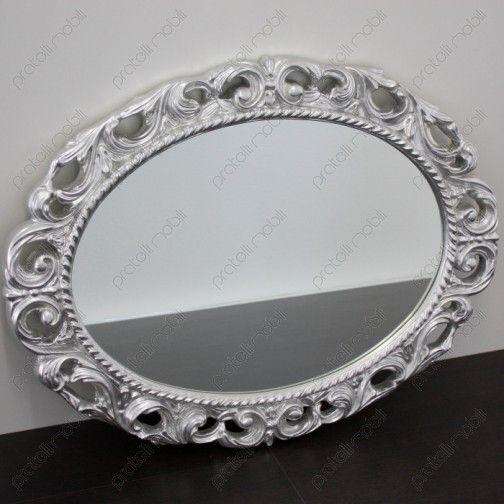 Specchiera Barocca Ovale #mirrors #frames #home #decoring