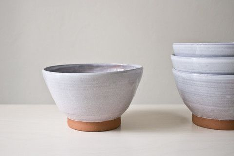 Lavender ceramic bowl – HNST.LY